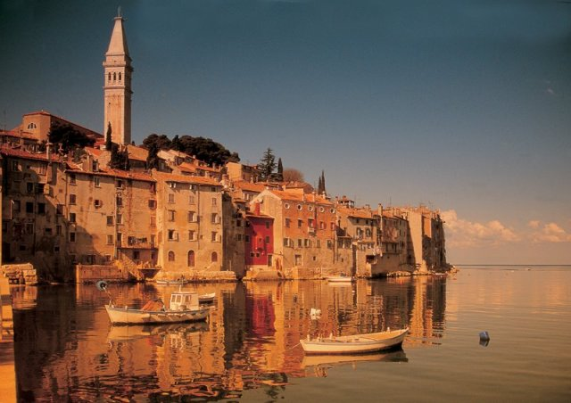 Reflections of Magical Rovinj, Istria, Croatia