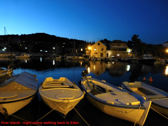 Dalmatian nights, and harbour lights