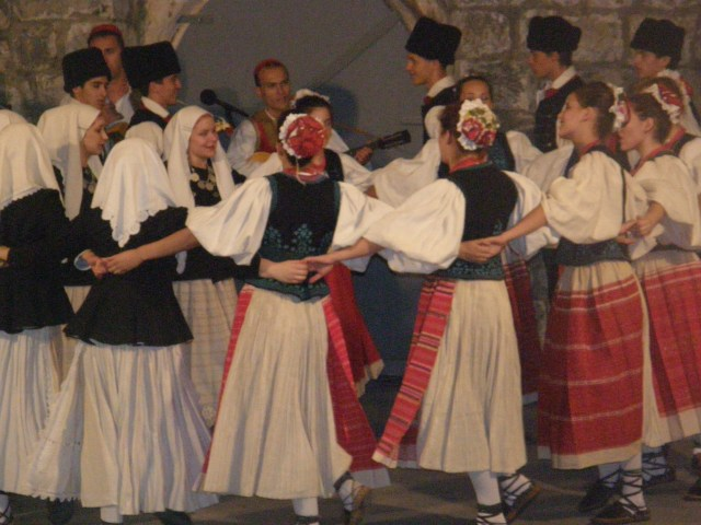 The Lindjo dance group of Dubrovnik
