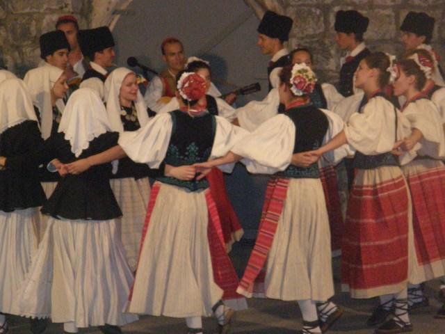 The Lindjo dance group of Dubrovnik