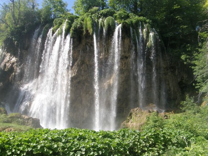 Plitvica Lakes in the LIKA region of Croatia