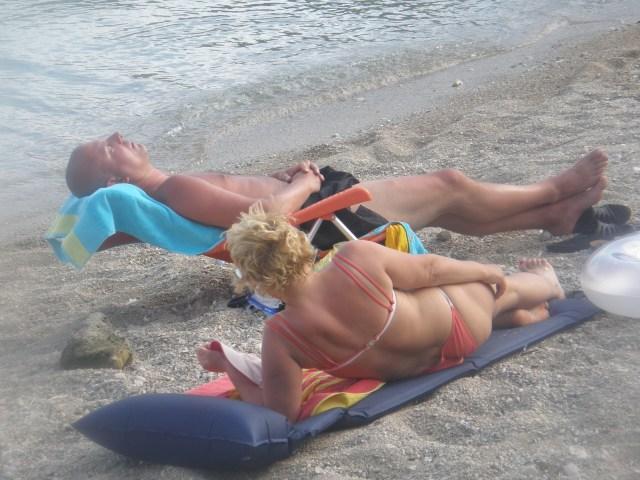 Relaxxxxxxxxxxing in Dalmatia...