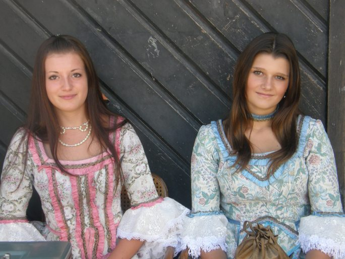 The girls of medieval Varazdin
