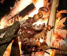 Delicious treats over the coals