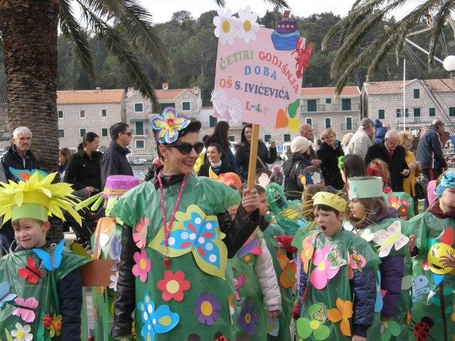 Schoolchildren of the Makarska Riviera and their fantastic teachers...