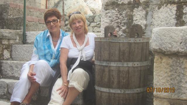 Marjit and myself in Kostanje