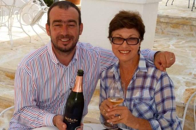 With Alen Bibich.... Winemaker Extroidinaire !!!