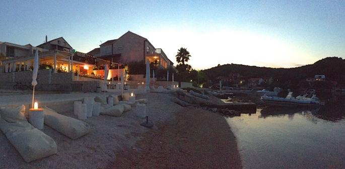 dusk at Tara's Lodge